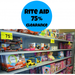 Rite Aid: 75% off Holiday Decor, Fragrance Gift Sets, TONS of Toys + More!