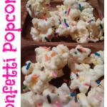 Recipe: Confetti Popcorn!  Quick, Easy & Fun!
