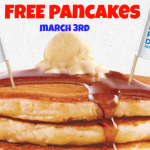 IHOP: FREE Pancakes March 3rd!