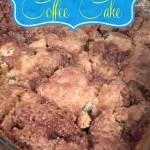 Sunday Morning Coffee Cake Recipe!