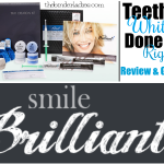 Smile Brilliant Review:  Teeth Whitening Done RIGHT + Giveaway ($139.95 value)!