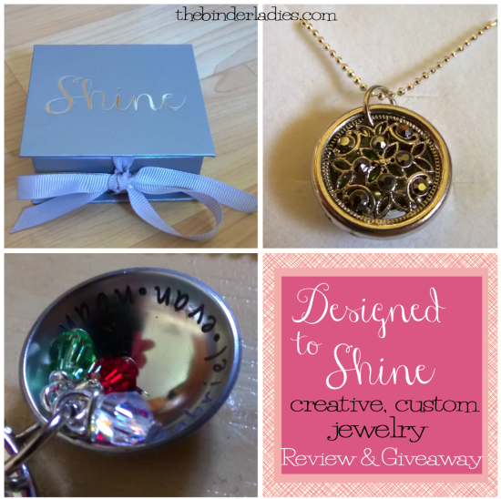 Designed to Shine review and giveaway