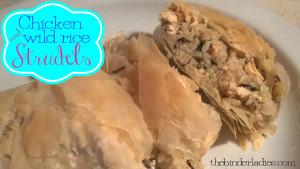 Chicken & Wild Rice Strudels