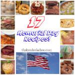 17 Memorial Day Recipes!