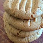 3 Ingredient Peanut Butter Cookies Recipe!