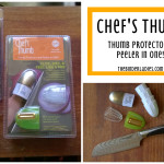 Chef's Thumb Review: Thumb Protector + Peeler in ONE!