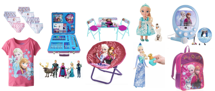 Disney Frozen Deals on the Web