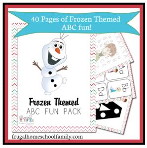 Disney Frozen Free Printables