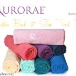 Aurorae Aqua Microfiber Beach & Swim Towel Review!