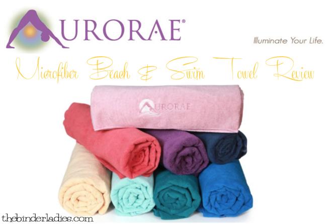 Aurorae Aqua Microfiber Beach Towel Review