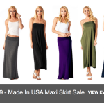 TagUnder: Women's Convertible Maxi Skirts/Dresses as low as $10.99 + FREE Shipping!