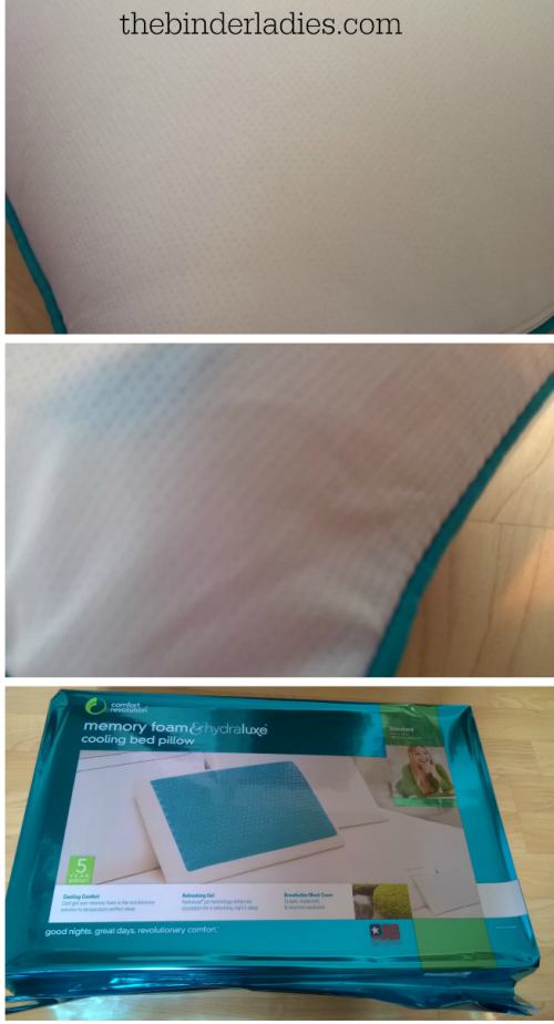 Comfort Revolution Hydraluxe Gel Cooling Pillow Review