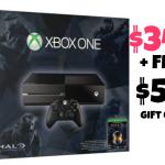 Microsoft: Xbox One Halo Bundle $349 + FREE $50 Gift Card!