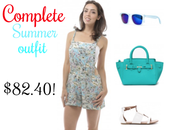 Emma's Mode Complete Summer outfit!