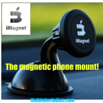 iMagnet Magnetic Phone Mount Review!