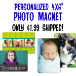Reminder: Personalized Photo Magnet only $1.99 Shipped + More Photo Deals!