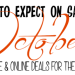What To Expect On Sale In October! Weddings, Winter, Baking, Produce & More