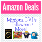 Amazon Deals Roundup!  Minions, DVDs, Halloween, Yoga + More!