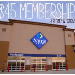 Sam's Club Membership and freebies only $45!