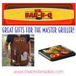Mr. Bar-B-Q Cast Iron Griddle & 5-Piece Accessory Set w/ Apron – The Perfect Gifts for The Master Griller! #holidaygiftguide
