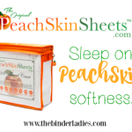 Holiday Gift Guide: PeachSkinSheets – Sleep Done Right! #holidaygiftguide