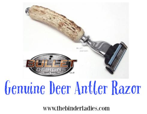Bullet Designs Deer Antler Razor