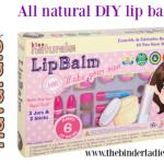 Kiss Naturals DIY Lip Balm Kits – Natural Ingredients + Simple Instructions = FUN Kids' Gifts!
