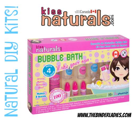 Kiss Naturals DIY Bubble Bath Kit