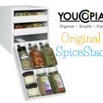 Holiday Gift Guide:  YouCopia SpiceStack Organizes Your Spice Cupboard  #holidaygiftguide