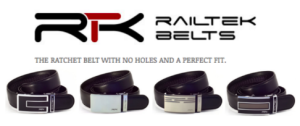 Railtek No Holes Belts