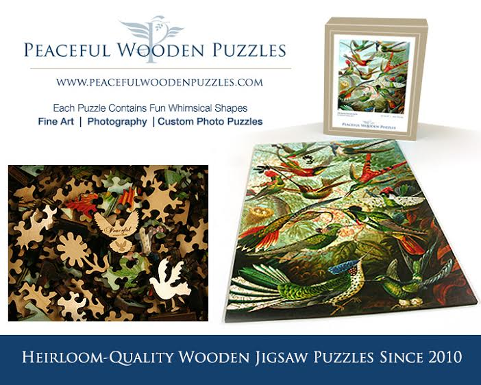Peaceful Wooden Puzzles