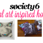 Holiday Gift Guide: Society6 & Saatchi Art Home Décor Gifts  #holidaygiftguide