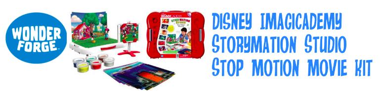 Disney Imagicademy Storymation Studio Stop Motion Movie Kit