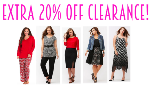 Lane Bryant 30% off clearance