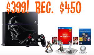 PS4 Star Wars Bundle Deal