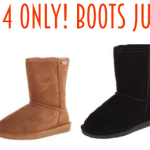 11/14 Only! Women's Cozy Bearpaw & Willowbee Boots only $19.99 (reg. up to $84.99)!