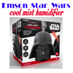 Holiday Gift Guide: Emson Star Wars Darth Vader Ultrasonic Cool Mist Humidifier  #holidaygiftguide