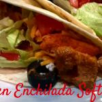 Chicken Enchilada Soft Tacos Recipe