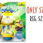 Highly Rated Crayola Minions Sketcher Projector only $7.58! Regularly $27.99