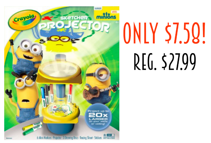 Minions Projector only $7.58 (reg. $27.99)