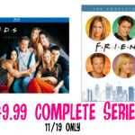 *HOT!* (11/19 only) Friends Complete TV Series DVD Set only $49.99! Blu-Ray $59.99
