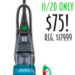 11/20 only! Hoover SteamVac Carpet Cleaner with Clean Surge only $75! Regularly $179.99