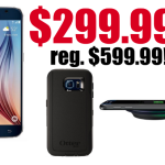 11/30 only! Samsung Galaxy S6 (unlocked) only $299.99! Regularly $599.99