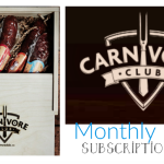 Holiday Gift Guide: Carnivore Club Monthly Meat Subscription Box  #holidaygiftguide