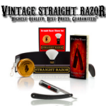 Holiday Gift Guide: Vintage Straight Razor Men's Shaving Products #holidaygiftguide