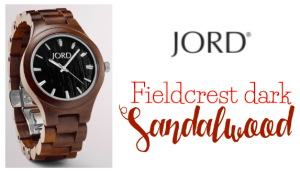 Jord Natural Wood Watches Fieldrest Dark Sandalwood Review