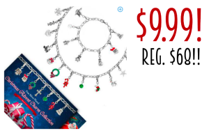 Christmas Advent Charm Collection (necklace & bracelet) only $9.99! Regularly $68!