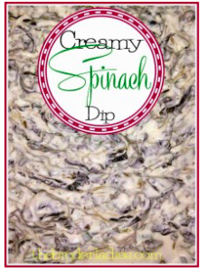 Best Ever Spinach Dip