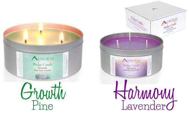 Aurorae Yoga Candles