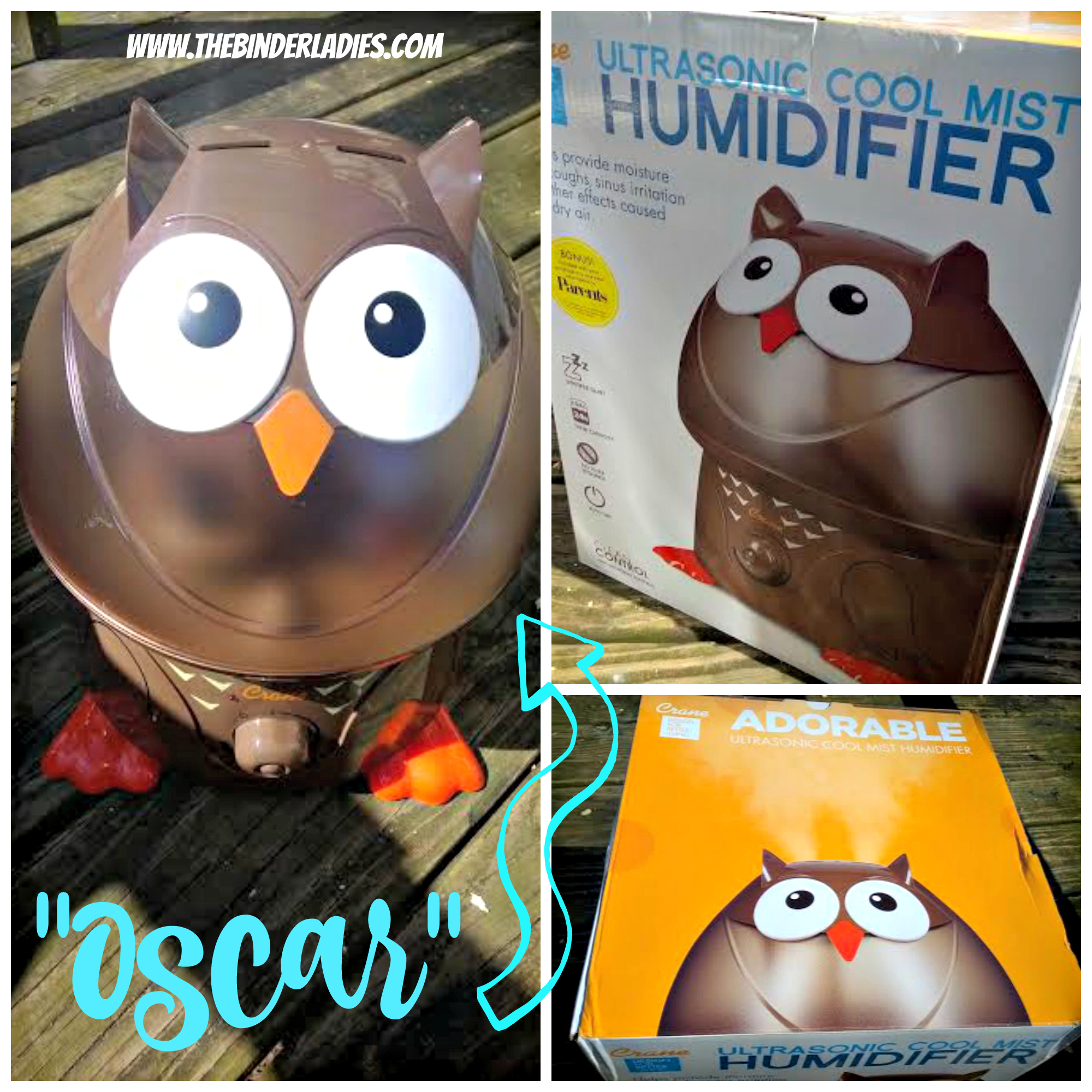Crane Humidifiers - great looking humidifiers with tons of features!